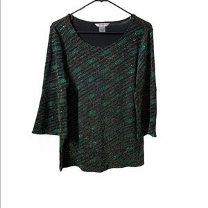 Tanjay Sparkly Bell Sleeved Top